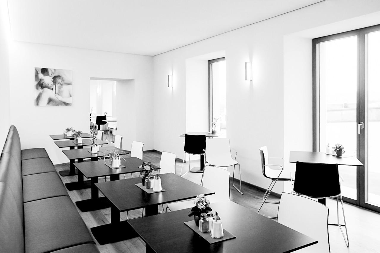Hildebrand + Schwarz Architekten, Friedrichshafen Martinuscafe, Kloster Weingarten ↗