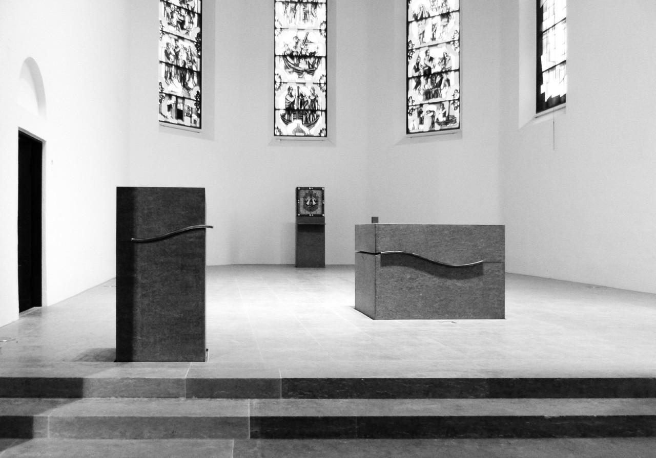 Hildebrand + Schwarz Architekten, Friedrichshafen Kirche St. Nikolaus in Friedrichshafen ↗
